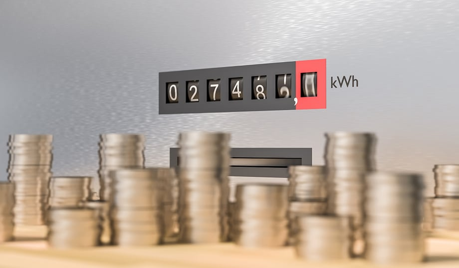 The cost of an average electricity bill has increased each year